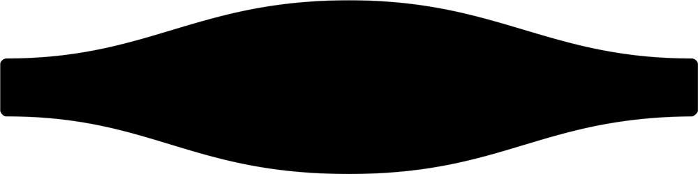 Faïence unie décor navette MONOCHROME 7.5x30