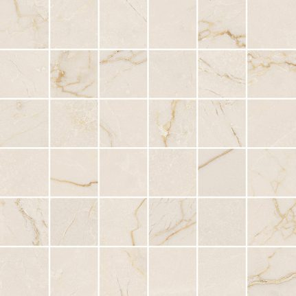 Mosaïque effet marbre CREMA AVORIO 30x30